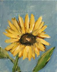Art: Sunflower Study #2 by Artist Windi Rosson