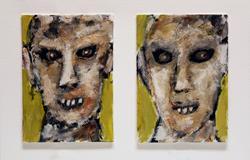 Art: Ogre & Ogress Portrait by Artist Windi Rosson