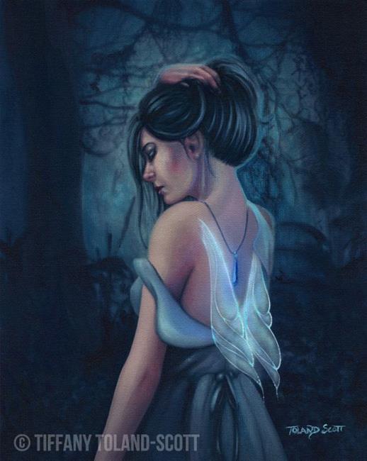 Art: Sapphire by Artist Tiffany Toland-Scott