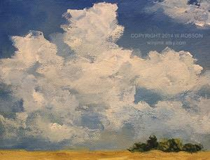 Detail Image for art June Clouds #1