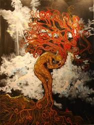 Art: Eve After The Apple by Artist Stefan Duncan