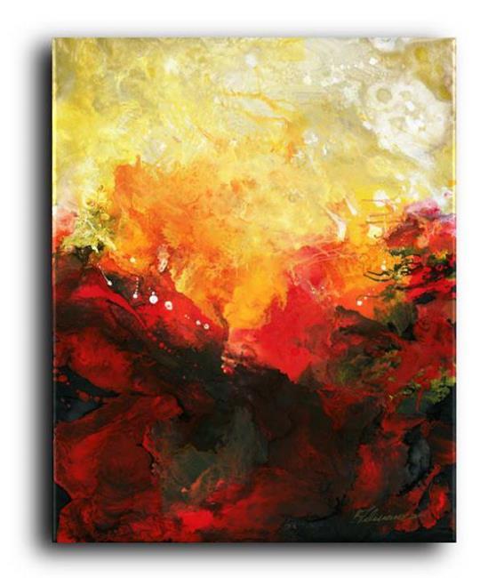 Art: The Phoenix by Artist Elena Feliciano