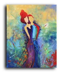 Art: The Red head #1 by Artist Elena Feliciano