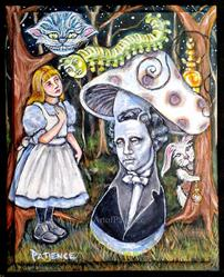 Art: Logical Nonsense in Wonderland by Artist Patience