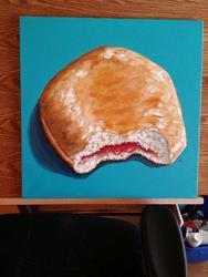 Art: Doughnut be Jelly by Artist Tabatha  Rhodes