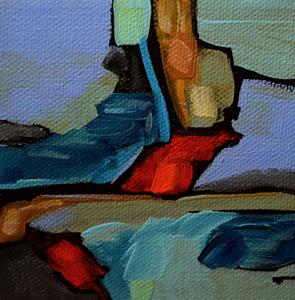 Detail Image for art Crag's Edge View ~ Cross Country Series