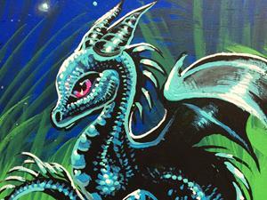 Detail Image for art Dragon's Garden