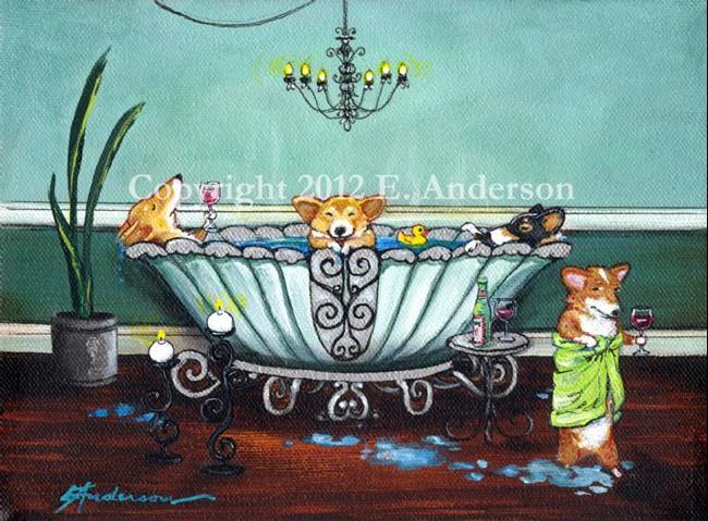 Art: Sensational Soak by Artist paintedbyevie