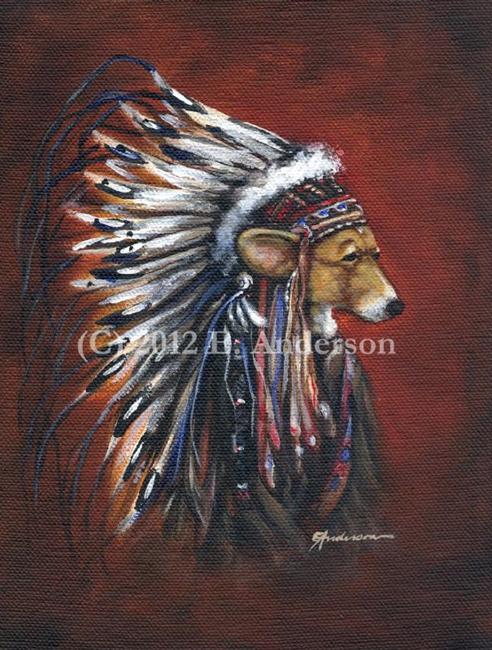 Art: Corgi Chief by Artist paintedbyevie