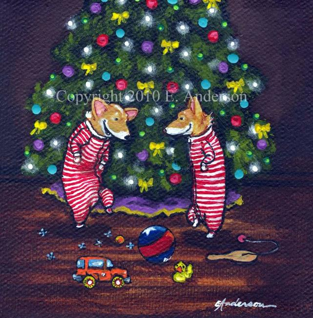 Art: Christmas Jig 2010 by Artist paintedbyevie