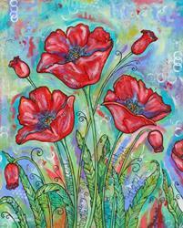 Art: Felt With The Heart by Artist Melanie Douthit