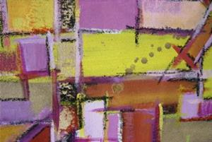 Detail Image for art YELLOW BRICK ROAD (SOLD)
