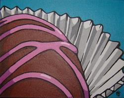 Art: Raspberry Truffle by Artist Kris Jean
