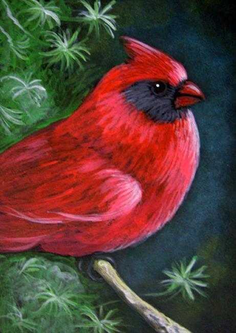 Which Red To Paint A Red Cardinal In Oil