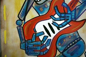 Detail Image for art Electric Robots