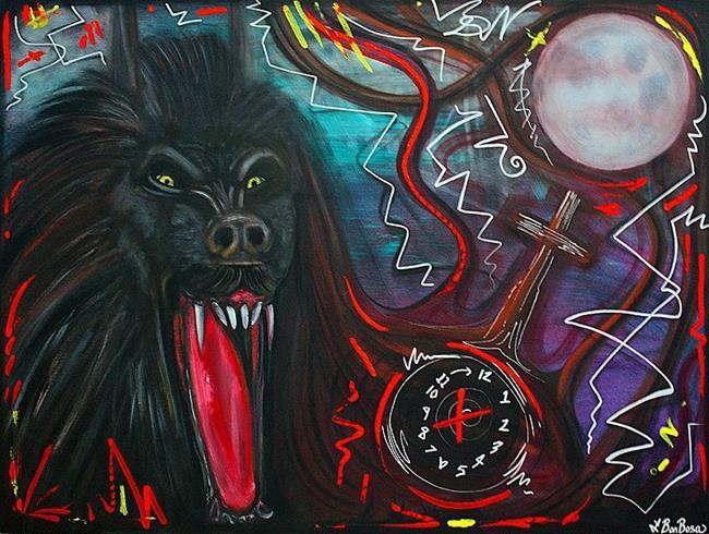 Art: Slaves Of The Moon by Artist Laura Barbosa