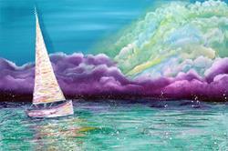 Art: Enchanted Voyage by Artist Laura Barbosa