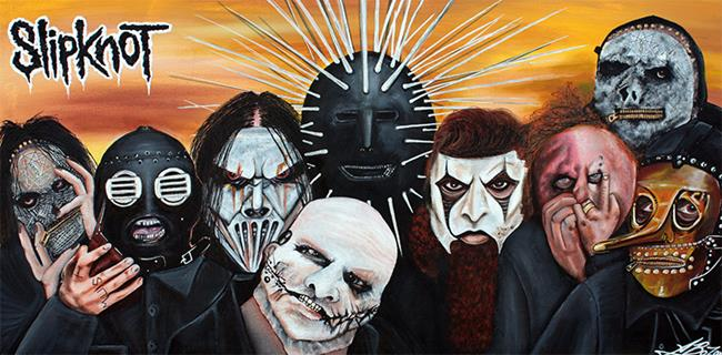 Art: Slipknot by Artist Laura Barbosa