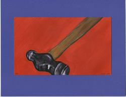 Art: Ball Peen Hammer by Artist Jenny Doss