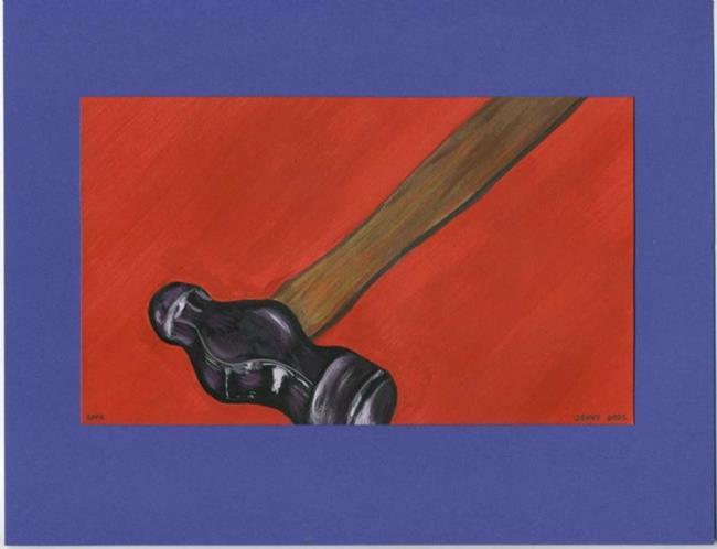 Art: Ball Peen Hammer by Artist Jenny Doss