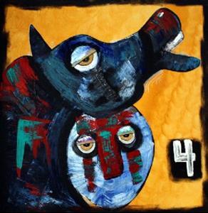 Detail Image for art 4 Horse Men