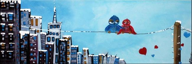 Art: City Birds by Artist Laura Barbosa