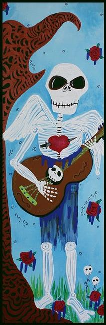 Art: The Music Player by Artist Laura Barbosa