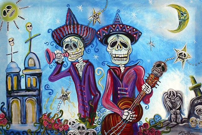 Art: Secets of The Mariachi by Artist Laura Barbosa