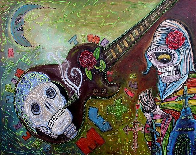 Art: Once Upon A time in Mexico by Artist Laura Barbosa