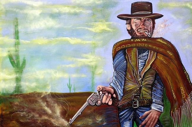 Art: Smoking Gun by Artist Laura Barbosa