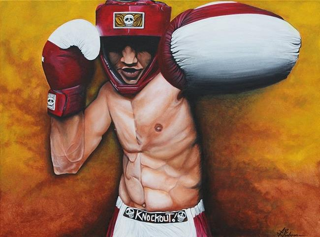 Art: Knockout by Artist Laura Barbosa