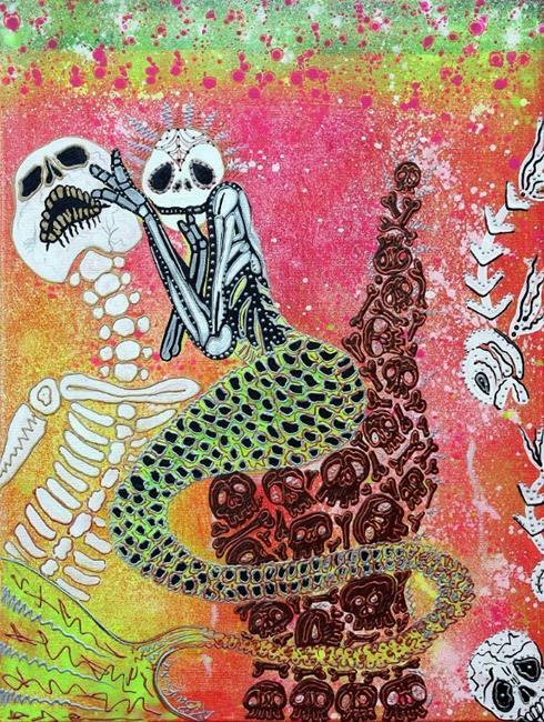 Art: Mental Mermaid Marnie by Artist Laura Barbosa