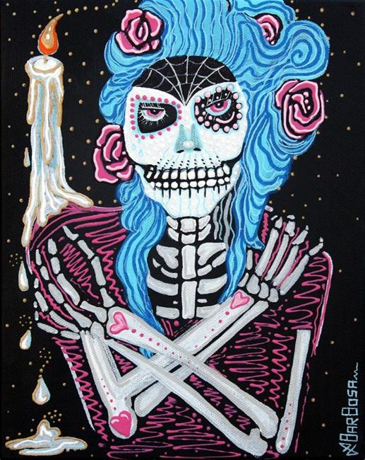Art: Madame Muertos by Artist Laura Barbosa