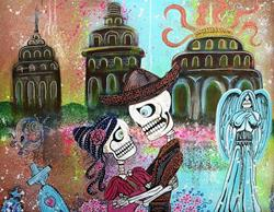 Art: Amor Eterno by Artist Laura Barbosa