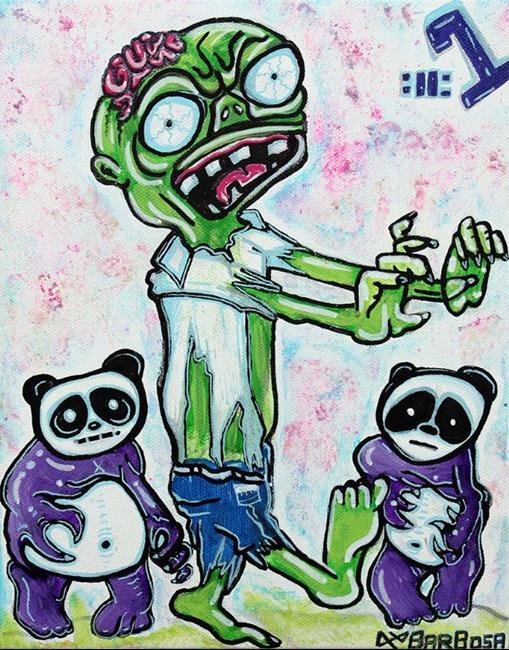 Art: My Pet Zombie #1 - Pandamonium by Artist Laura Barbosa