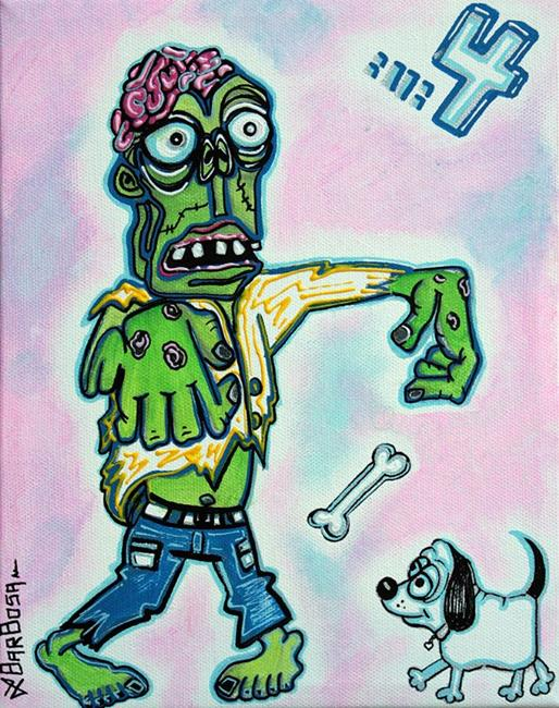 Art: My Pet Zombie #4 - Here Boy by Artist Laura Barbosa