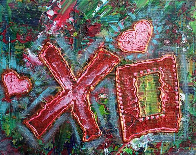 Art: XO by Artist Laura Barbosa