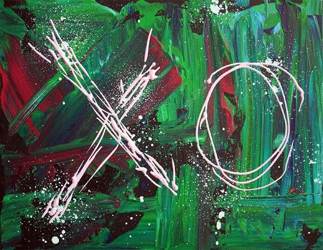 Art: XO 2 by Artist Laura Barbosa