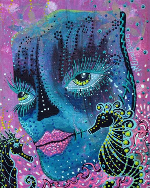 Art: Seahorse Serenade by Artist Laura Barbosa