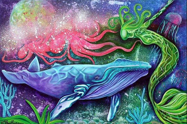 Art: Enchanted Ocean by Artist Laura Barbosa