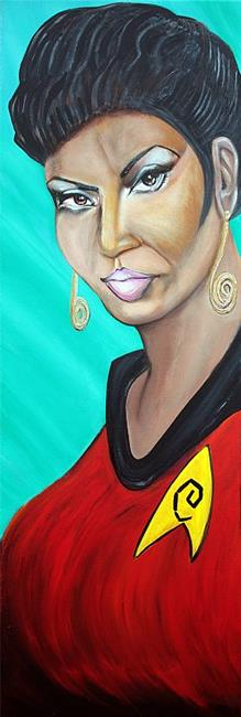 Art: UHURA by Artist Laura Barbosa