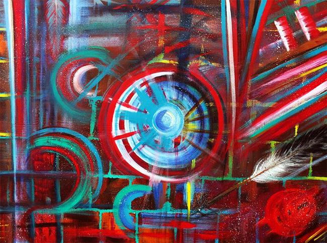 Art: War Hero 3 by Artist Laura Barbosa