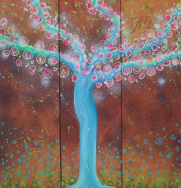 Art: Wisper Tree by Artist Laura Barbosa