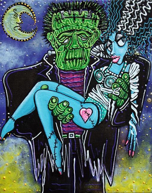 Art: My Monster My Bride by Artist Laura Barbosa