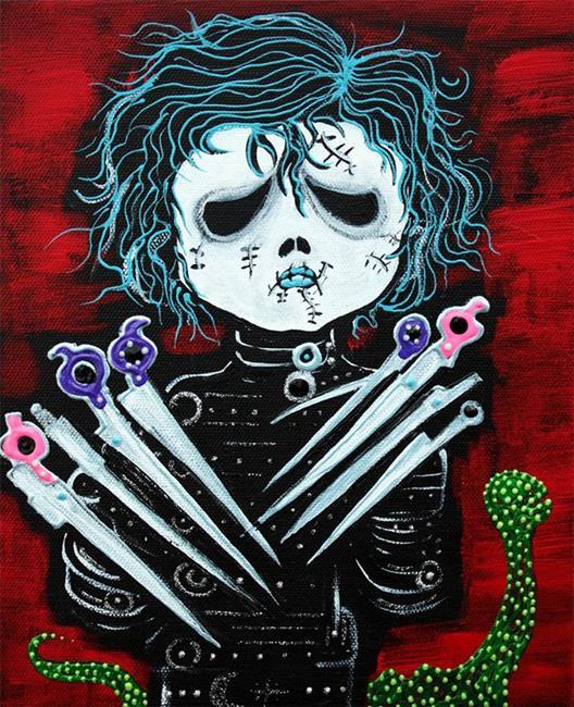Art: Scissorhands by Artist Laura Barbosa