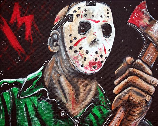 Art: Jason 13 by Artist Laura Barbosa