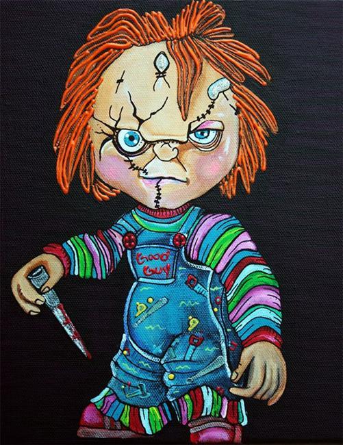 Art: Good Guy Doll by Artist Laura Barbosa