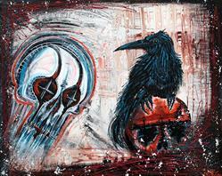 Art: The Messenger by Artist Laura Barbosa