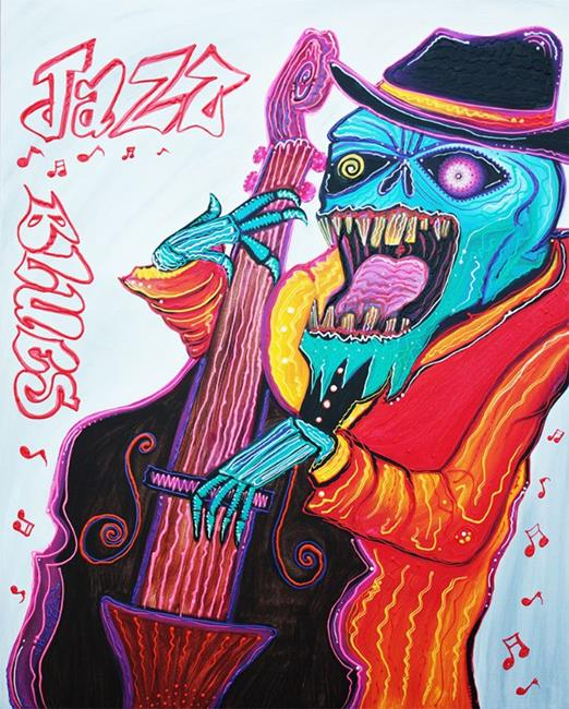 Art: Jazz and Blues by Artist Laura Barbosa
