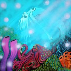 Art: Sea of Dreams by Artist Laura Barbosa